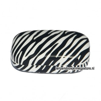Zebra Print Lenzendoosje
